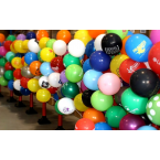 Standard Ballon with Sticks and Cups
