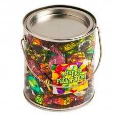 BIG PVC BUCKET FILLED WITH CHOCOLATE ECLAIRS 450G