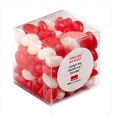 CUBE 110G JELLY BEANS  (CORP COLOURED OR MIXED COLOURED JELLY BEANS)