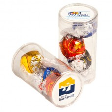 PET TUBE FILLED WITH LINDOR BALLS X 3