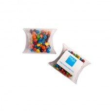 MINI M&MS IN PVC PILLOW PACK 25G (MIXED COLOURS ONLY)