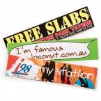 Gloss Paper Sticker (75 x 210mm)