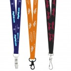 19mm Detail Woven Environmentally Friendly Lanyard