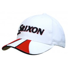 BRUSHED HEAVY COTTON CAP WITH SANDWICH AND PEAK TRIM
