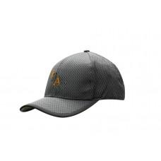 WAFFLE MESH CAP WITH PEAK TRIP