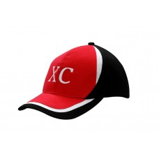 BRUSHED HEAVY COTTON CAP WITH CROWN & PEAK INSERTS