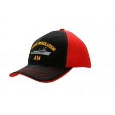 BRUSHED HEAVY COTTON CAP & WAFFLE MESH