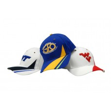 BRUSHED HEAVY COTTON CAP WITH CROWN & PEAK INSERT/EMBROIDERY