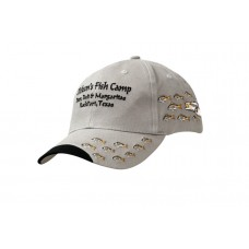 BRUSHED HEAVY COTTON CAP WITH PEAK INDENT