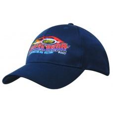 100% RECYCLED EARTH FRIENDLY FABRIC BASEBALL CAP