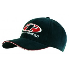 BRUSHED HEAVY COTTON CAP WITH DOUBLE SANDWICH