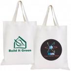 Short Handle Bamboo Tote Bag - 100 GSM