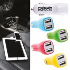 Dual USB Outlet Car Charger