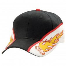 Flaming Dice Cap