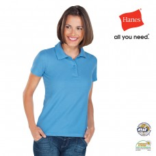 Hanes Women's Heavyweight Polo
