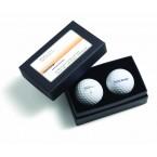 Titleist 2 Ball Business Card Box