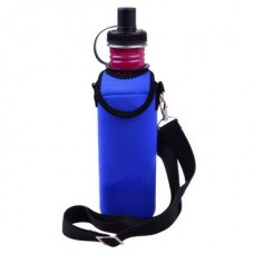 BOTTLE COOLER WITH STRAP