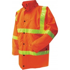 RAIN JACKET WITH MICRO PRISM TAPE