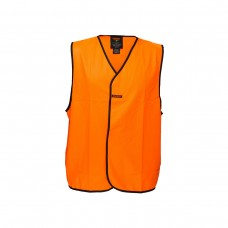 HI VIS DAY ONLY VEST WITH VELCRO CLOSURE