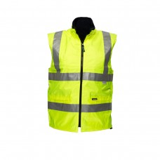 POLAR FLEECE WATERPROOF REVERSIBLE VEST WITH 3M TAPE