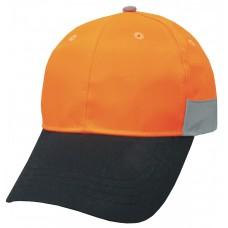 HI VIS CAP WITH 3M TAPE