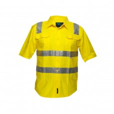FULL COLOUR REGULAR WEIGHT LONG SLEEVE SHIRT WITH TAPE OVER SHOULDER.
