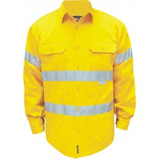 FULL COLOUR REGULAR WEIGHT LONG SLEEVE SHIRT WITH 3M TAPE