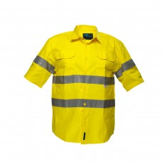 FULL COLOUR REGULAR WEIGHT SHORT SLEEVE SHIRT WITH 3M TAPE