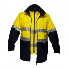 100% COTTON 4-IN-1 JACKET