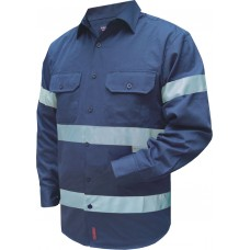 LONG SLEEVE BUSINESS SHIRT WITH TAPE