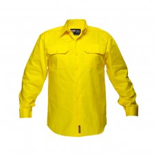 SOLID HI VIS LONG SLEEVE SHIRT