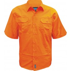 FULL HI VIS LIGHTWEIGHT SHORT SLEEVE SHIRT
