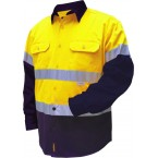 2 TONED REGULAR WEIGHT LONG SLEEVE SHIRT WITH 3M TAPE