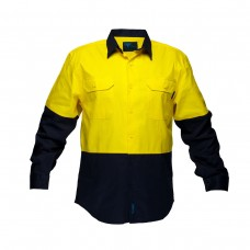 2 TONED REGULAR WEIGHT LONG SLEEVE SHIRT