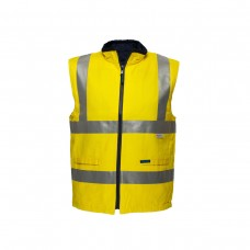 100% COTTON FULLY REVERSIBLE DAY/NIGHT VEST