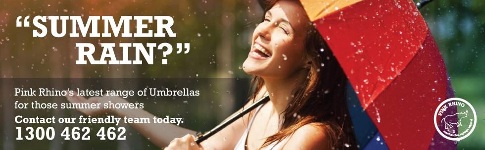 Umbrellas for Summer Rain