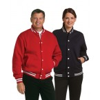 Adult Fleece Varsity Jacket
