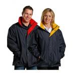 Unisex Stadium Outerwear Contrast Jacket