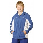 Kids' Warm Up Jacket With Breathable Lining