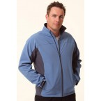Mens Contrast Softshell Jacket