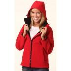 Ladies Softshell Hooded Jacket