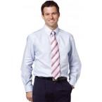 Men's Dot Contrast Long Sleeve Shirt