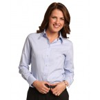 Ladies CVC Oxford Long Sleeve Shirt