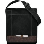 Jute Non-Woven Evolution Messenger Bag