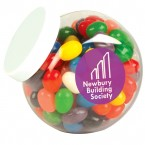 Assorted Colour Mini Jelly Beans in Containers
