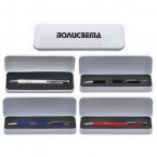ALUMINUM METAL PEN SET WITH TIN BOX
