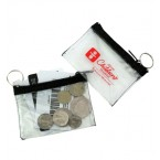Clear Vinyl Key Pouch